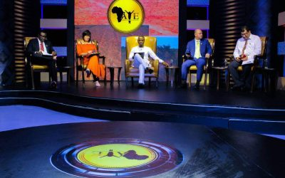 Ali Baba and AY joins other international business experts' on the world's largest entrepreneurial reality TV show. (A.Y.E)